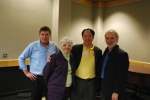 Bill Millet, Carol Walter, Anthony Chow, and Jamie Larue