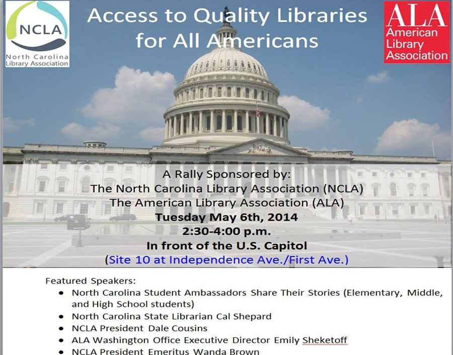 NCLA and ALA Library Rally