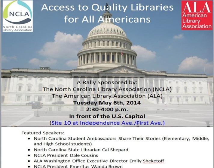 NCLA and ALA Library Rally