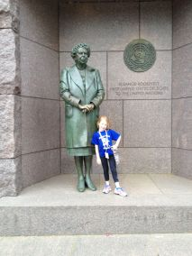Alea Mitchell and Eleanor Roosevelt