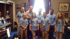 2014 Student Ambassadors on Capitol Hill