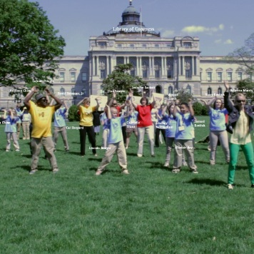Happy Dancing for Libraries in Washington, DC!