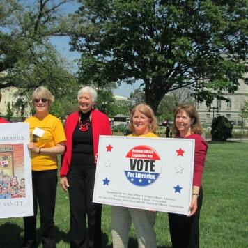 Library Legislative Day 2014 Rally