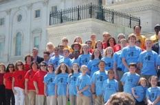 NCLA Delegation with Senator Burr
