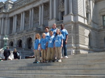 Team Purple at the Library of Congress
