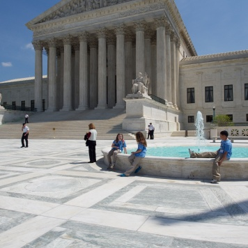 Team Purple at the US Supreme Court