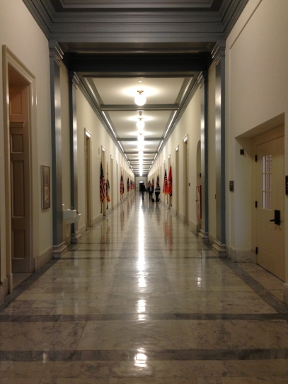 Halls of the Rayburn Building