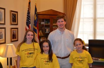Gillian Moore, Felicite Hangyas, and Katie Johnsen