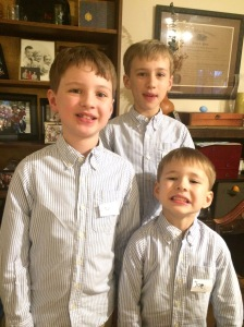 Luke, Paul, and Joel Ertzberger - Congressional District 7