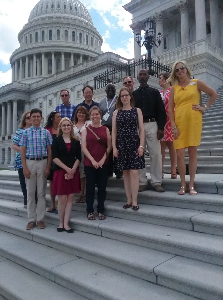 NCLA's 2019 National Library Legislative Day Delegation at the U.S. Capitol